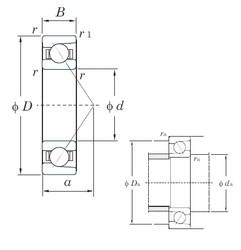 130 mm x 200 mm x 33 mm  KOYO HAR026C angular contact ball bearings