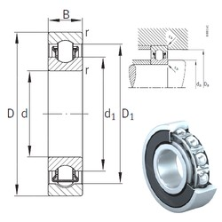 17 mm x 47 mm x 14 mm  INA BXRE303-2HRS needle roller bearings