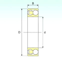 90 mm x 190 mm x 64 mm  ISB 2318 self aligning ball bearings