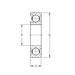 120 mm x 260 mm x 55 mm  Timken 324W deep groove ball bearings