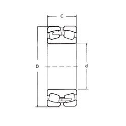 150 mm x 320 mm x 108 mm  FBJ 22330 spherical roller bearings