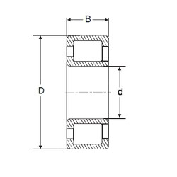 90 mm x 190 mm x 64 mm  SIGMA NJG 2318 VH cylindrical roller bearings