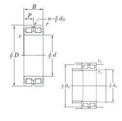 150 mm x 210 mm x 60 mm  KOYO DC4930AVW cylindrical roller bearings
