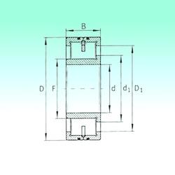 240 mm x 500 mm x 155 mm  NBS LSL192348 cylindrical roller bearings