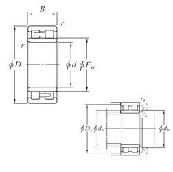 120 mm x 165 mm x 45 mm  KOYO NNU4924 cylindrical roller bearings