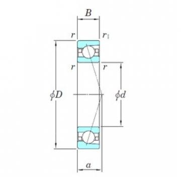 130 mm x 200 mm x 33 mm  KOYO 3NCHAC026C angular contact ball bearings