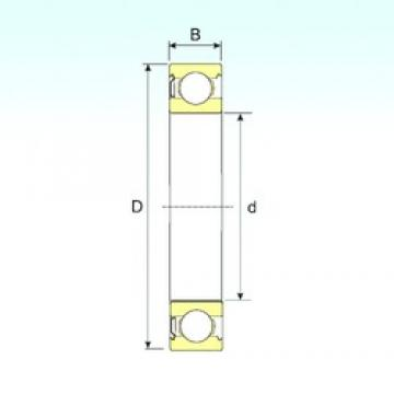 130 mm x 200 mm x 33 mm  ISB 6026-Z deep groove ball bearings