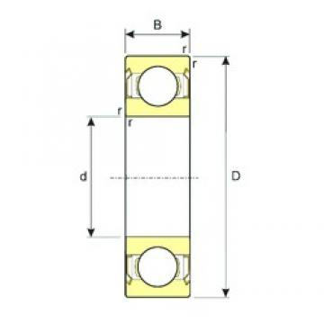 10 mm x 35 mm x 11 mm  ISB SS 6300-2RS deep groove ball bearings