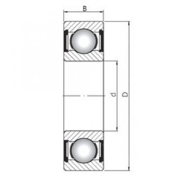 130 mm x 200 mm x 33 mm  Loyal 6026 ZZ deep groove ball bearings