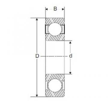170 mm x 260 mm x 42 mm  SIGMA 6034 deep groove ball bearings