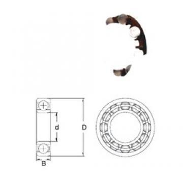 10 mm x 35 mm x 11 mm  ZEN P6300-GB deep groove ball bearings
