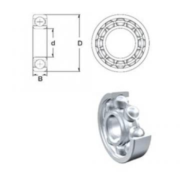 170 mm x 260 mm x 42 mm  ZEN 6034 deep groove ball bearings