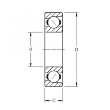 50 mm x 130 mm x 31 mm  Timken 7410WN angular contact ball bearings