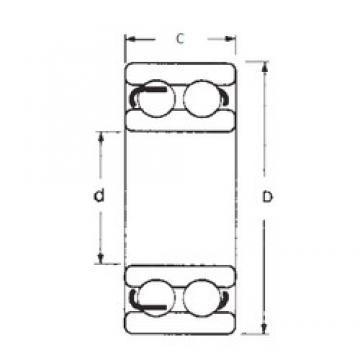 20 mm x 47 mm x 18 mm  FBJ 4204 deep groove ball bearings