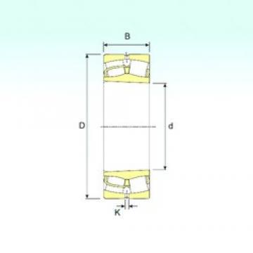 240 mm x 500 mm x 155 mm  ISB 22348 KVA spherical roller bearings