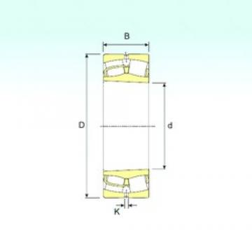 260 mm x 480 mm x 130 mm  ISB 22252 K spherical roller bearings