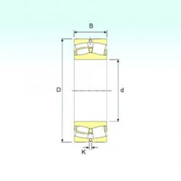 260 mm x 480 mm x 130 mm  ISB 22252 spherical roller bearings