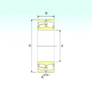 90 mm x 190 mm x 64 mm  ISB 22318 VA spherical roller bearings