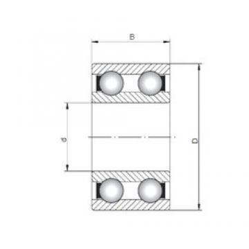 20 mm x 47 mm x 18 mm  Loyal 4204 deep groove ball bearings