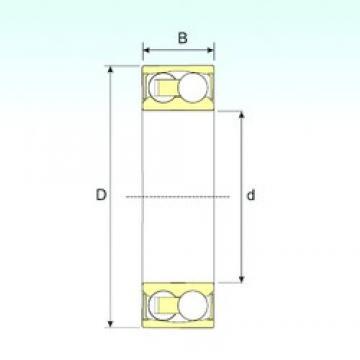 20 mm x 47 mm x 18 mm  ISB 2204-2RSTN9 self aligning ball bearings