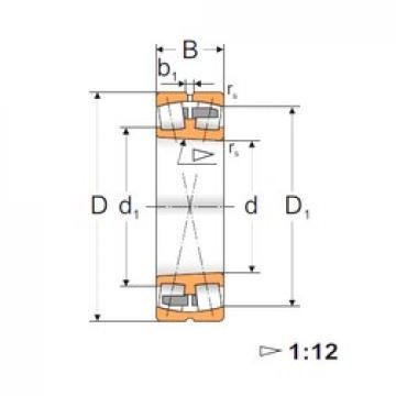 90 mm x 190 mm x 64 mm  Loyal 22318 ACKMBW33 spherical roller bearings