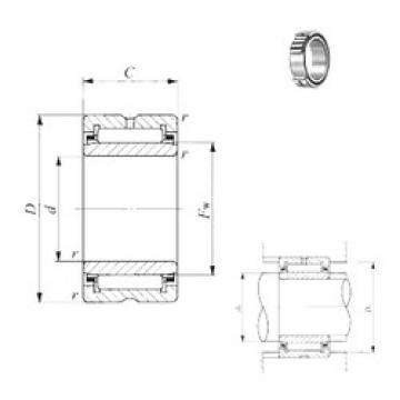 150 mm x 210 mm x 60 mm  IKO NA 4930 needle roller bearings