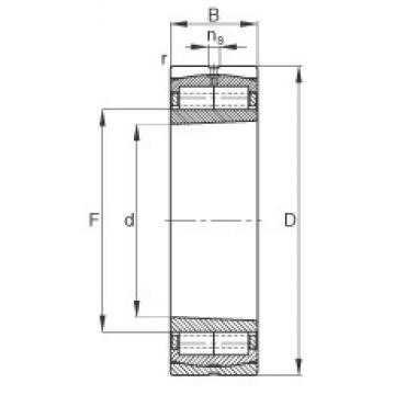 150 mm x 320 mm x 108 mm  FAG F-804272.ZL-K-C3 cylindrical roller bearings