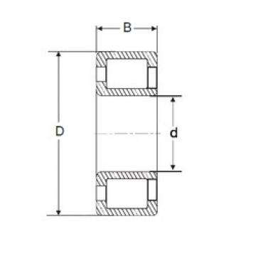 150 mm x 320 mm x 108 mm  SIGMA NJG 2330 VH cylindrical roller bearings