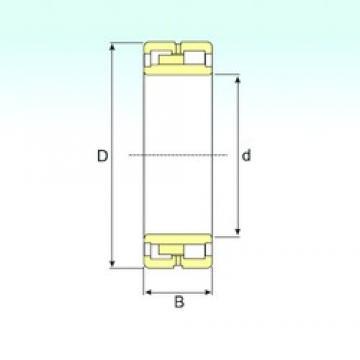 150 mm x 210 mm x 60 mm  ISB NNU 4930 K/SPW33 cylindrical roller bearings