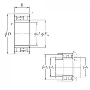 150 mm x 210 mm x 60 mm  KOYO NNU4930 cylindrical roller bearings
