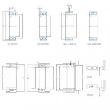 120 mm x 165 mm x 45 mm  SKF NNU 4924 B/SPW33 cylindrical roller bearings