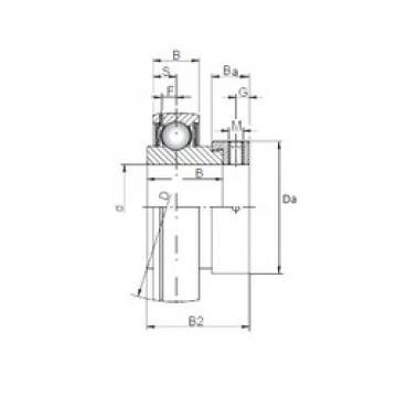 40 mm x 80 mm x 30,2 mm  ISO SA208 deep groove ball bearings