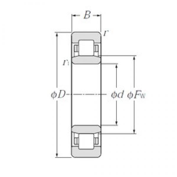 130 mm x 200 mm x 33 mm  NTN NU1026 cylindrical roller bearings #1 image