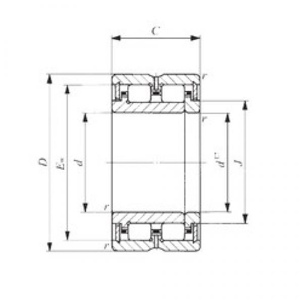 120 mm x 165 mm x 45 mm  IKO NAU 4924 cylindrical roller bearings #1 image